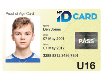 my id card official uk pass proof of age photo id card