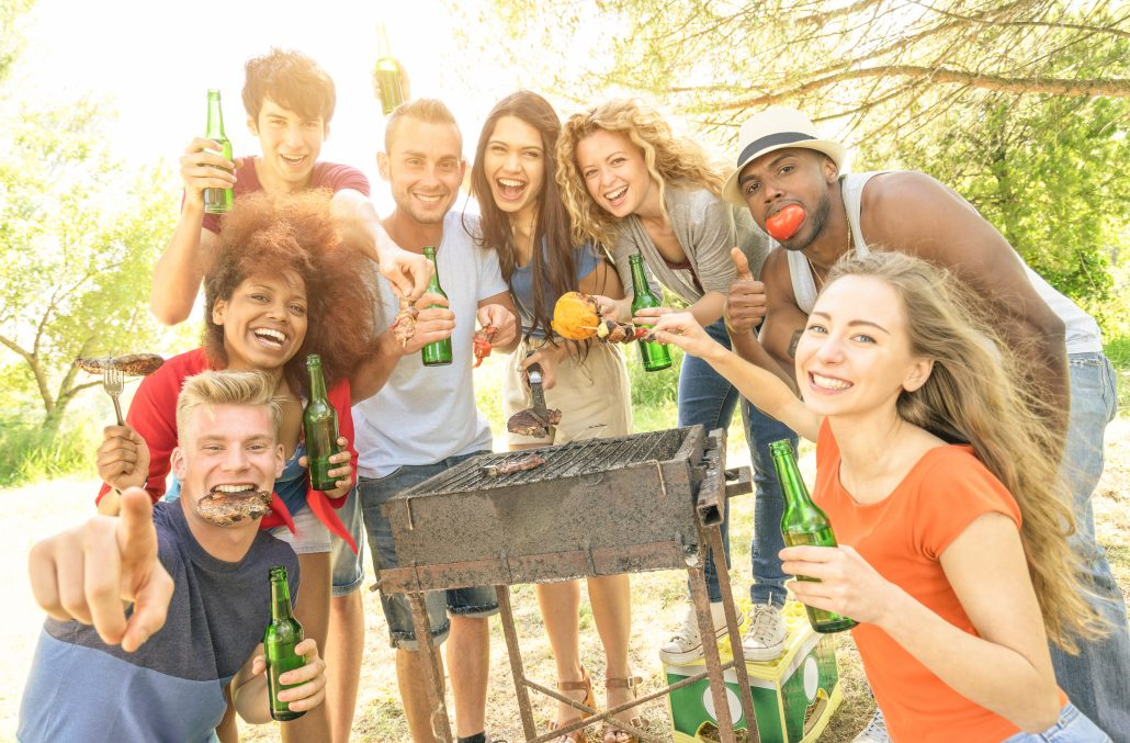bbq party essentials list including your pass id card
